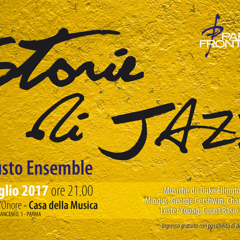 Storie di Jazz... Waiting for PJF17
